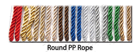 Round PP Rope Handles for Paper Bags